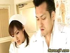 Hot asian nurse wench